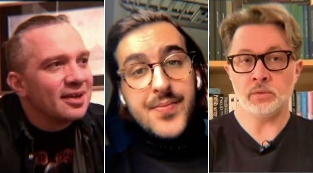Łukasz Orbitowski, Igor Walaszek, Michał Rusinek wzięli udział w projekcie wspierającym Strajk Kobiet