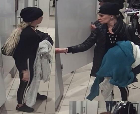 Poznańscy policjanci opublikowali zdjęcia kobiet, które mogły dokonać kradzieży odzieży w jednej z poznańskich galerii handlowych.