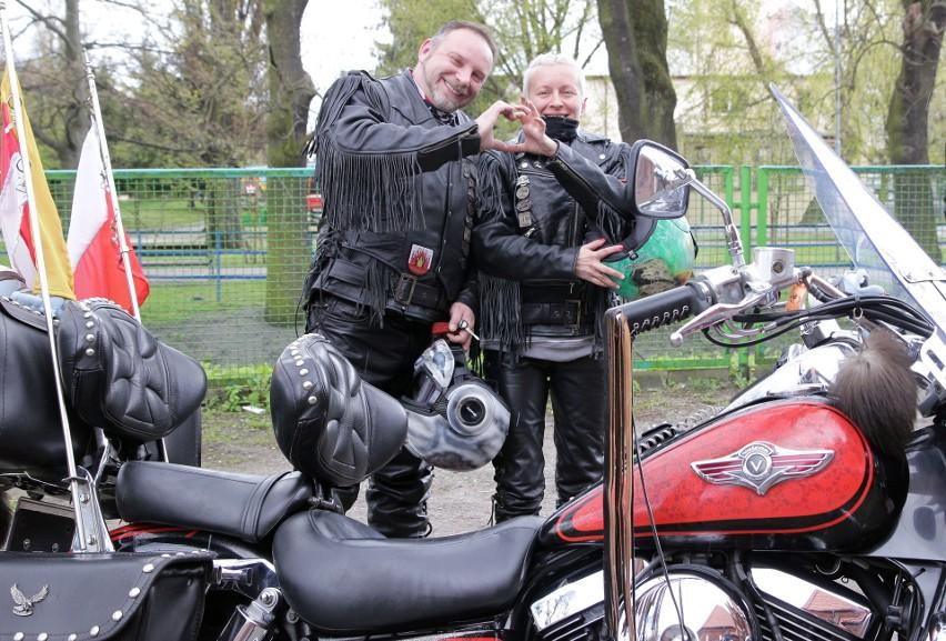 Grudziądzcy motocykliści wzięli udział w mszy św. w kościele...