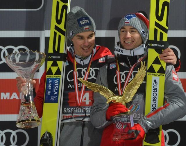 Kamil Stoch wygrał Turniej Czterech Skoczni. Piotr Żyła był drugi, a Maciej Kot czwarty
