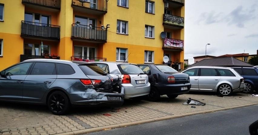 Z rana w niedzielę 1 sierpnia na parkingu na ul. Słonecznej...