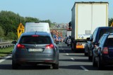 Korki na autostradzie A4 koło PPO Karwiany. Co się dzieje?