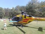 Wypadek na obozie konnym w Niesulicach. Na miejsce przyleciał śmigłowiec Lotniczego Pogotowia Ratunkowego [ZDJĘCIA]