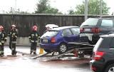 Wypadek na Szczecińskiej. Zderzyły się dwa samochody [ZDJĘCIA]