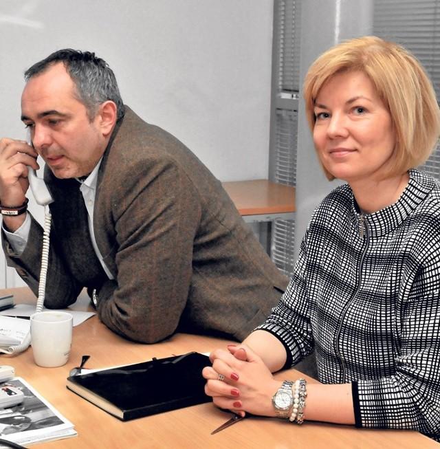 Przemysław Chojnowski i Katarzyna Szłapka z Centrum Biznesu w Koszalinie odpowiadali wczoraj na pytania Czytelników.