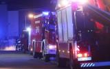 Tragiczny pożar domu w Orzeszu. Nie żyją trzy osoby. Budynek jest całkowicie spalony