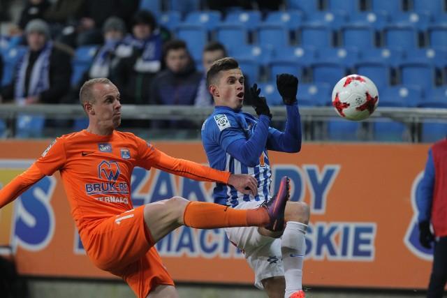 Wołodymyr Kostewycz ma za sobą bardzo udany debiut w oficjalnym meczu w barwach Lecha