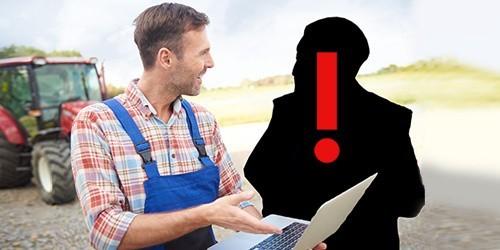 Agencja Restrukturyzacji i Modernizacji Rolnictwa ostrzega prze anonimową osobie, która oferuje fałszywą pomoc przy obsłudze wniosku o przyznanie dofinansowania