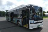 Kolejny weekend testowania autobusów elektrycznych w Krośnie. Darmowe kursy do uzdrowisk [ZDJĘCIA]