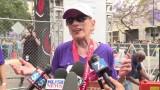 94-latka przebiegła półmaraton [WIDEO]