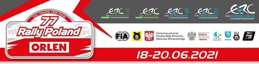Dziś rusza ORLEN 77. Rajd Polski - Mistrzostwa Europy startują z Mikołajek [ZAPOWIEDŹ]