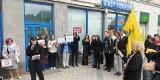 Przed siedzibą kuratorium oświaty demonstrowali przeciwnicy ministra Przemysława Czarnka. Dyskryminacja LGBT i klerykalizacja szkół?