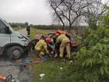 Tragiczne wieści ze szpitala! Poszkodowany w wypadku w Brzezinach zmarł nocą