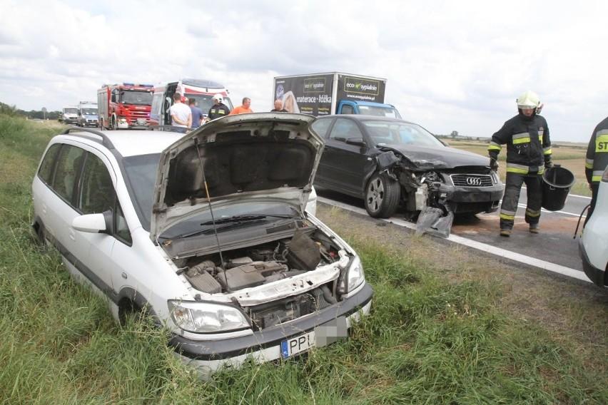 Wypadek na drodze Wrocław - Kłodzko