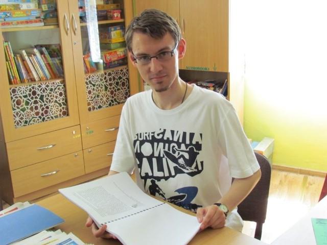 Jednym z laureatów jest Paweł Becker, wąbrzeski historyk