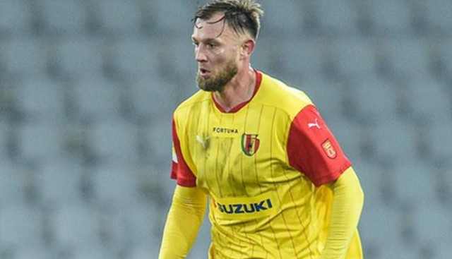 Rafał Grzelak rozegrał dobry mecz w barwach Korony Kielce z Resovią.