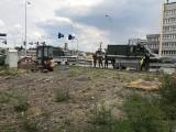 Niewybuch w Opolu. Znaleźli go robotnicy remontujący skrzyżowanie Oleskiej, Batalionów Chłopskich i Bohaterów Monte Cassino