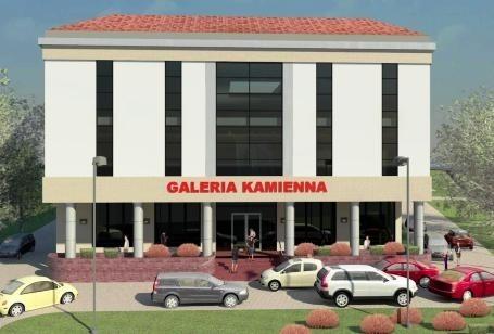 Tak bedzie wyglądać galeria Kamienna w Starachowicach.  Jej budowa zakończy się w 2012 roku.
