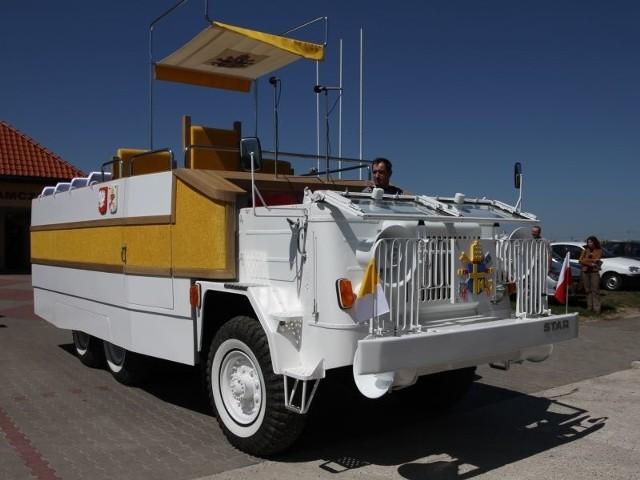Zrekonstruowany papamobile jest sprawny, może poruszać się biegiem pełzającym (do 7 km/godz.) oraz z maksymalną prędkością 60 km/godz. Odbył już próbną jazdę.