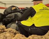 Funkcjonariusze KAS z Przemyśla wykryli duży przemyt suszu tytoniowego. Był ukryty w zatrzymanej na A4 ciężarówce wiozącej ziemniaki