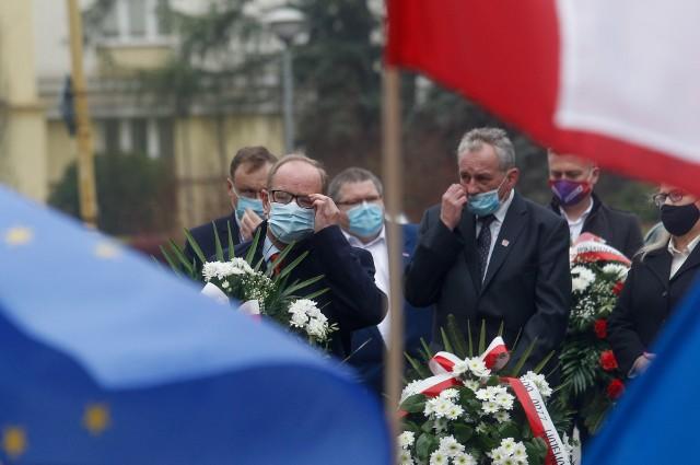 Rzeszowskie środowiska lewicowe świętowały Międzynarodowy Dzień Pracy.
