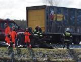 Tragiczny wypadek w Kordowie w gminie Olszewo-Borki. Na DK 61 wg relacji świadka zginęli pasażerowie samochodu osobowego