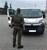 Funkcjonariusze Straży Granicznej z Tuplic zatrzymali skradzionego w Niemczech busa. Wartość auta to 47 tysięcy złotych