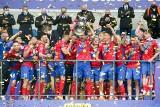 Piłkarze Rakowa Częstochowa wznieśli w Lublinie do góry Puchar Polski. Zobacz zdjęcia