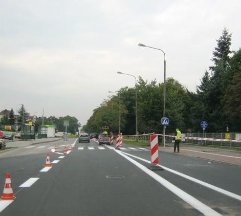 W piątek kończy się remont ul. Dąbrowskiego