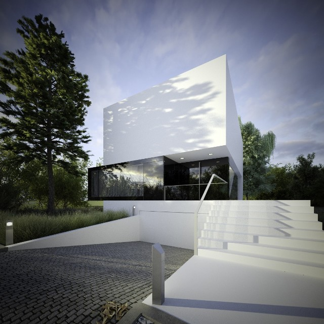 """Interesujący projekt domu we Wrocławiu""""Trzy poziomy domu"""" - innowacyjna willa powstaje we Wrocławiu (WIZUALIZACJE)"""