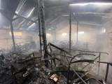 Po pożarze w Bydlinie nadzór budowlany wyłączył halę z użytkowania
