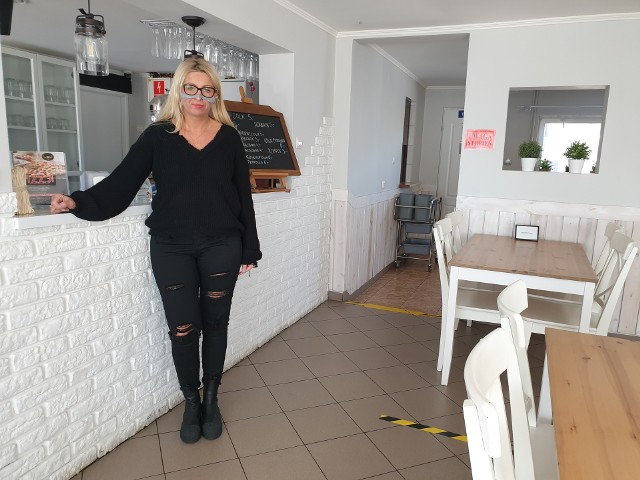 Joanna Sztandarowicz lokal miała zamknięty od października. Pandemia w sposób znaczący wpłynęła na jej budżet