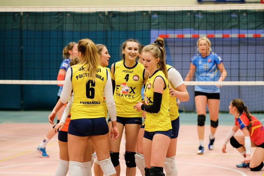 Siatkarki SKF Politechnika Poznańska miały po ostatnim meczu w tym sezonie powody do zadowolenia