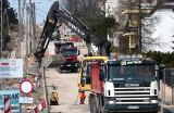 Przebudowa ulicy Jackowskiego w Grudziądzu zdaje się zbliżać się ku końcowi. Zobacz na jakim etapie są budowlańcy
