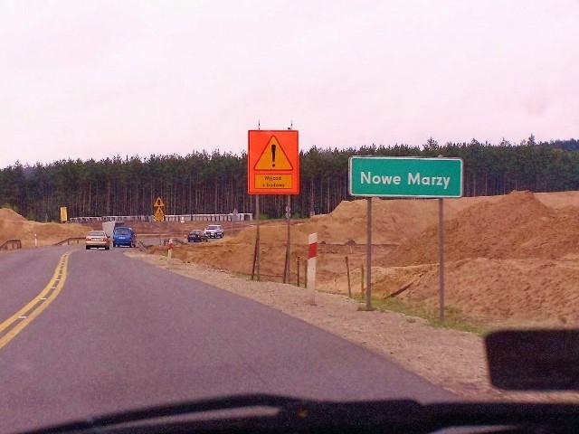 Połączenie nowej S5 Ostróda - Grudziądz z nadal budowaną na lewym brzegu Wisły S-piątką ma nastąpić w okolicach Grudziądza na węźle autostrady A1. Ale ostatecznie kierowcy wjadą na S5 wiodącą na południe i do Bydgoszczy dopiero w Nowych Marzach.