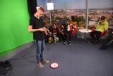 Młodzież z Lubska kręciła filmy w studiu telewizyjnym GL