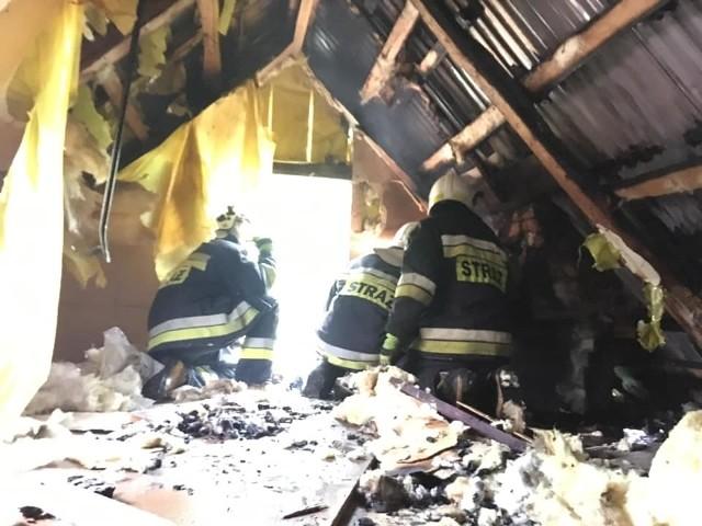 We wtorek w miejscowości Wądołki-Bućki doszło do pożaru domku letniskowego.