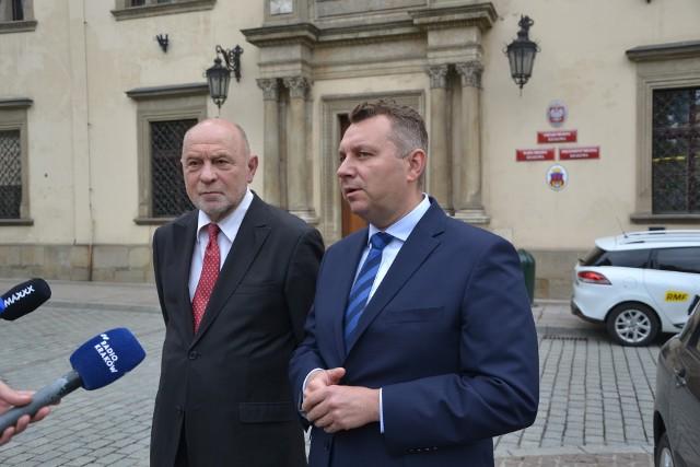 Bogusław Sonik i Rafał Komarewicz