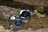 Podkarpacie. 36-letni motocyklista uderzył w przepust drogowy. Nie przeżył (ZDJĘCIA)