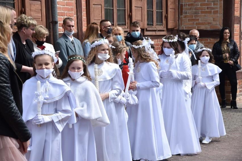 Komunie święte na Pomorzu. Pierwsze uroczystości za nami. Tak było w Malborku, Lęborku i Kartuzach