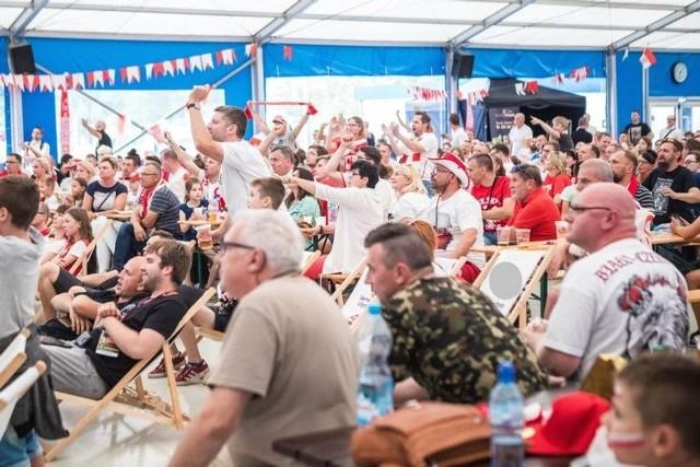 W Swarzędzkiej strefie kibica można było obejrzeć dwa pierwsze grupowe mecze Polaków na mistrzostwach świata w Rosji