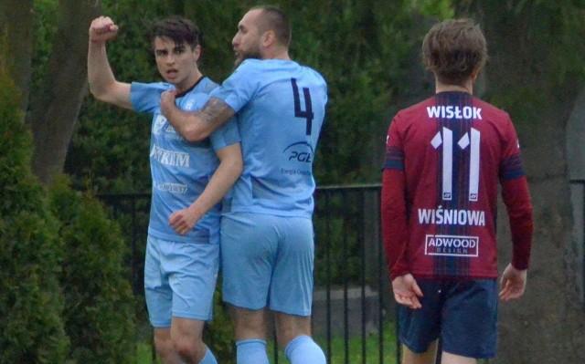 Damian Karwacki zdobył bramkę na 1:0 w meczu przeciwko Wisłokowi Wiśniowa.