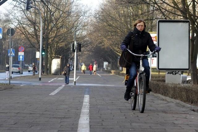 Ścieżka rowerowa ul. Kamienna