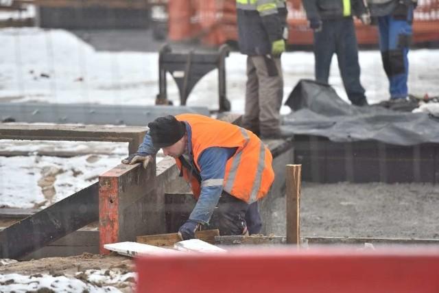 Przebudowa Kaponiery: Robotnicy wrócili na plac budowy
