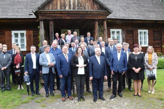 W Tokarni podczas spotkania z wicemarszałkami Sejmu i Senatu oraz trójką wiceministrów.
