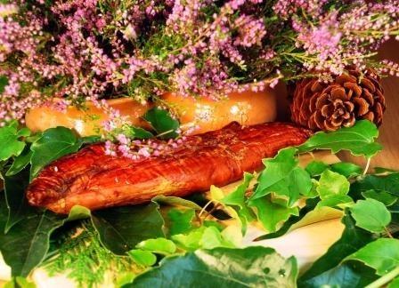 Produkowane w firmie WiR wyroby, jak na przykład prezentowana polędwiczka sprzedają się doskonale, o czym świadczy siódem miejsce w Polsce w rankinu średnich firm mięsnych