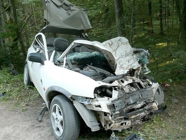 Śmiertelny wypadek na drodze do Czarnej Białostockiej