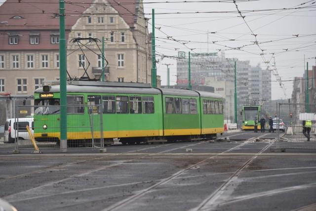 MPK: Testy tramwajów na moście Uniwersyteckim