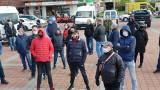 Targowisko miejskie w Strzelcach Opolskich. Gmina porozumiała się z kupcami, ale kompromis był na krótką metę