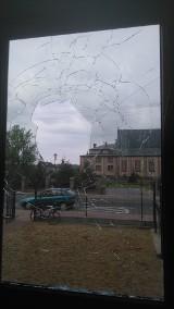 Kto rzucił kamieniem w okno remizy OSP Jednorożec?